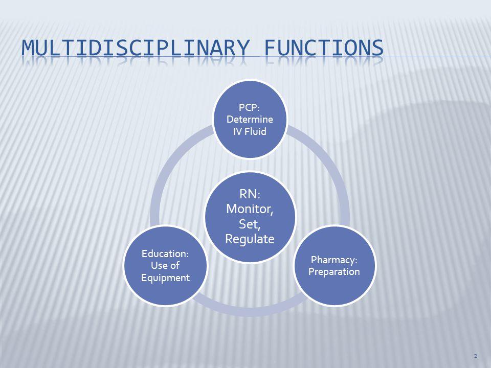Multidisciplinary functions