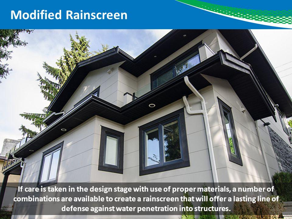 Modified Rainscreen