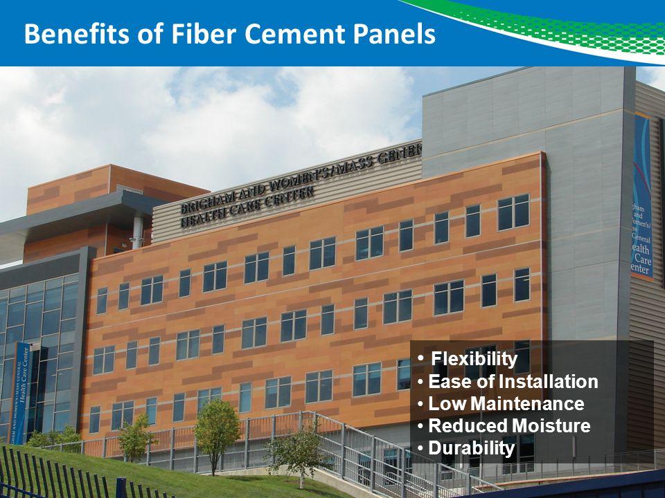 Benefits of Fiber Cement Panels