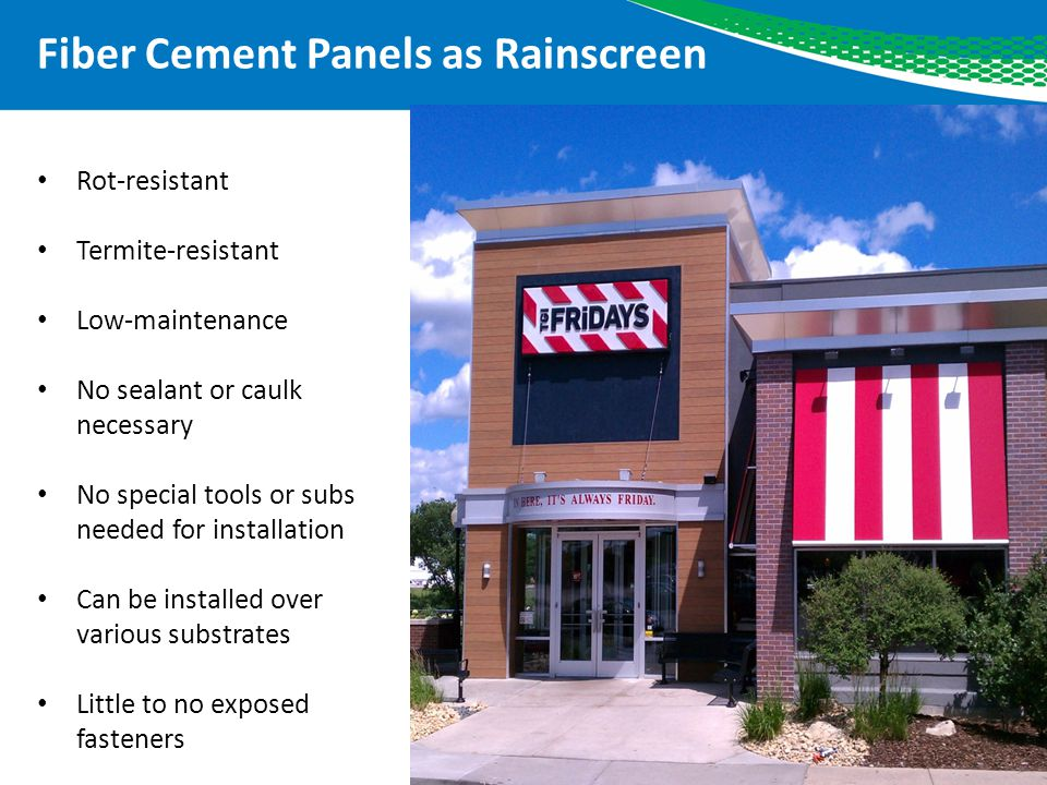 Fiber Cement Siding Clips : Fiber cement panels as rain screens ppt download