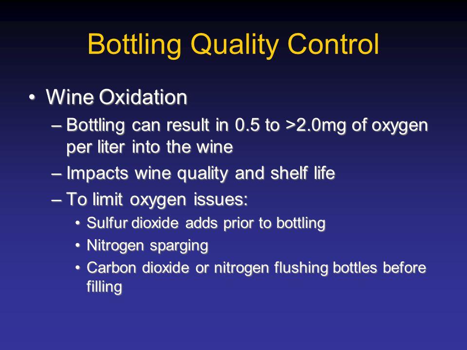Bottling Quality Control