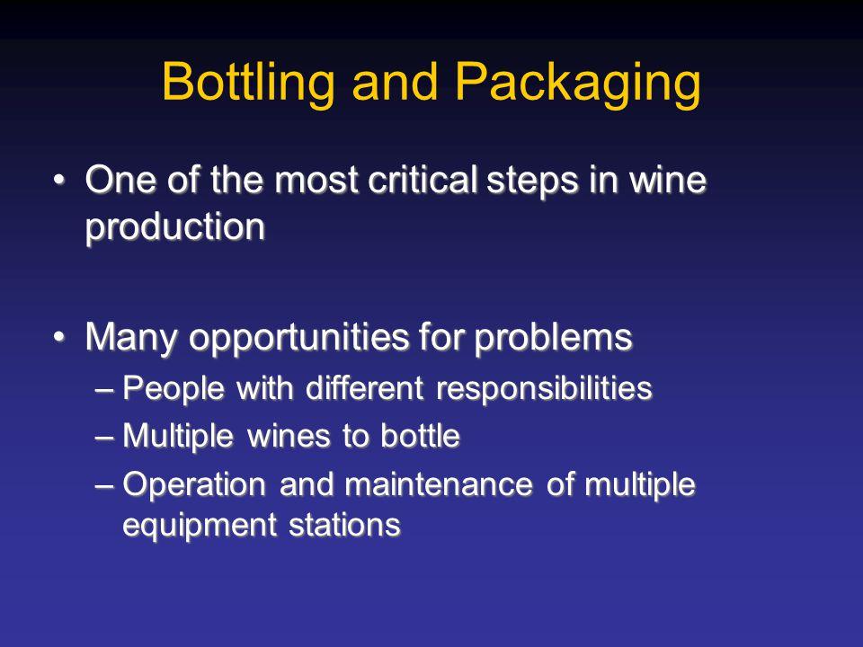 Bottling and Packaging