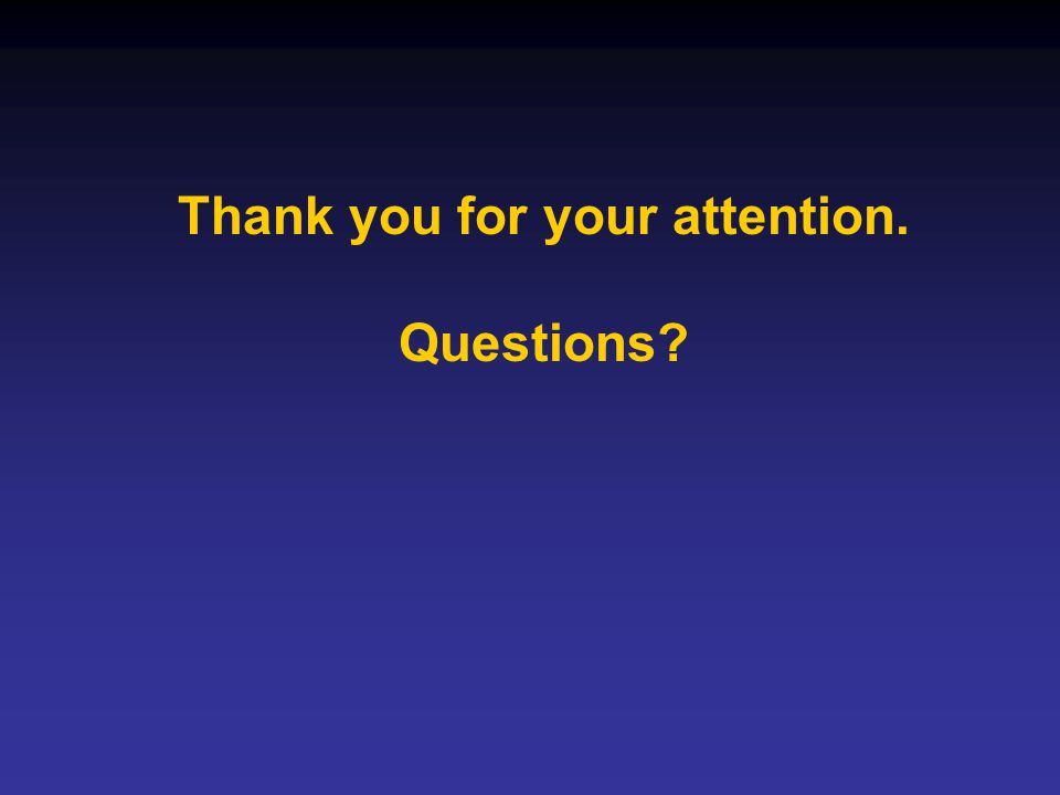 Thank you for your attention.