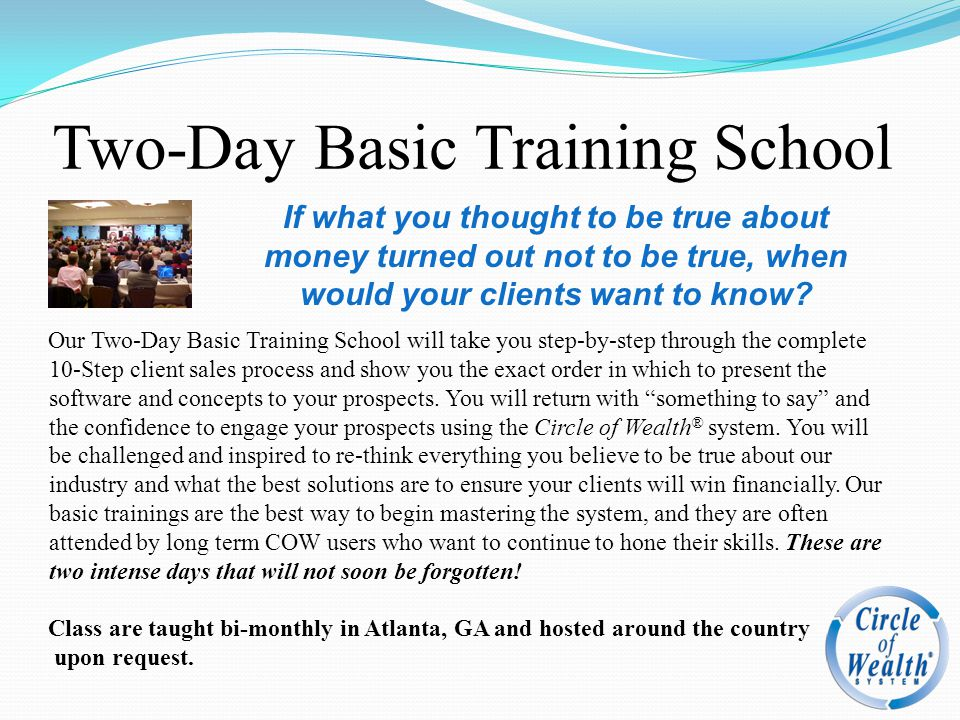 Two-Day Basic Training School