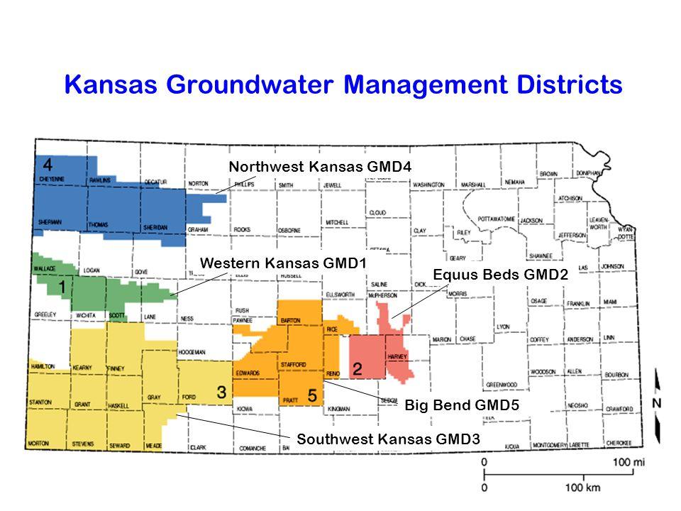 Kansas Groundwater Management Districts