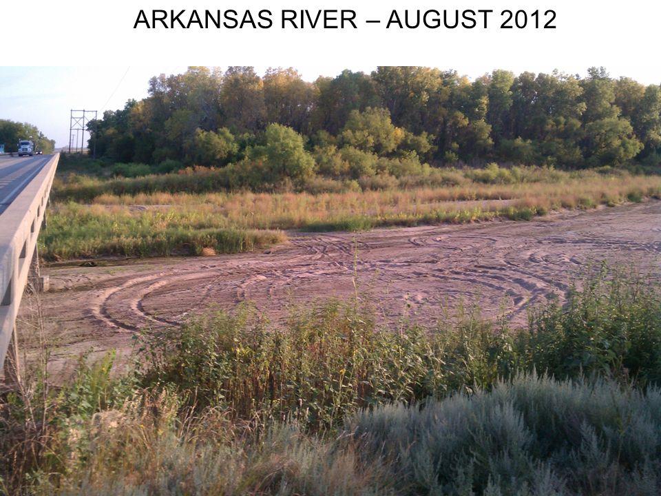 ARKANSAS RIVER – AUGUST 2012