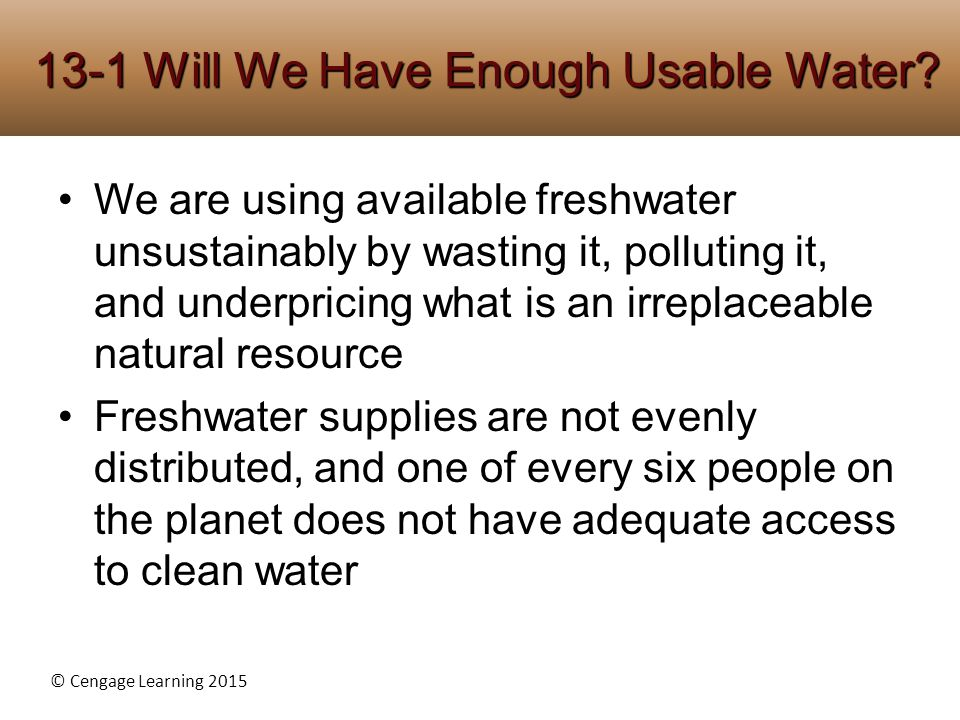 water is irreplaceable essay As the state water action plan lays out, water recycling simply put, california's diverse and unique ecosystems are irreplaceable and their loss threatens.