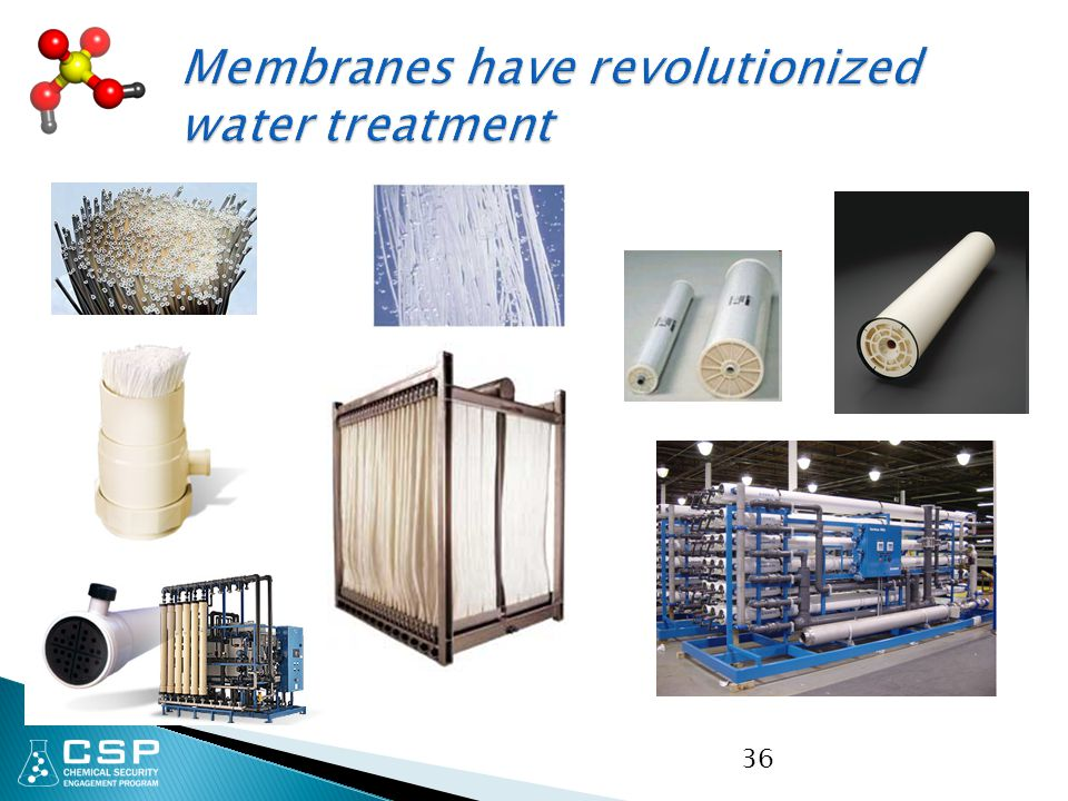 Membranes have revolutionized water treatment