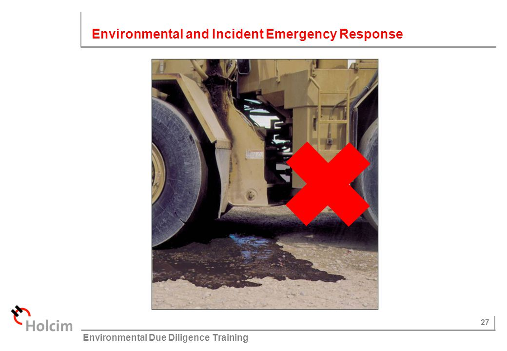 Environmental and Incident Emergency Response