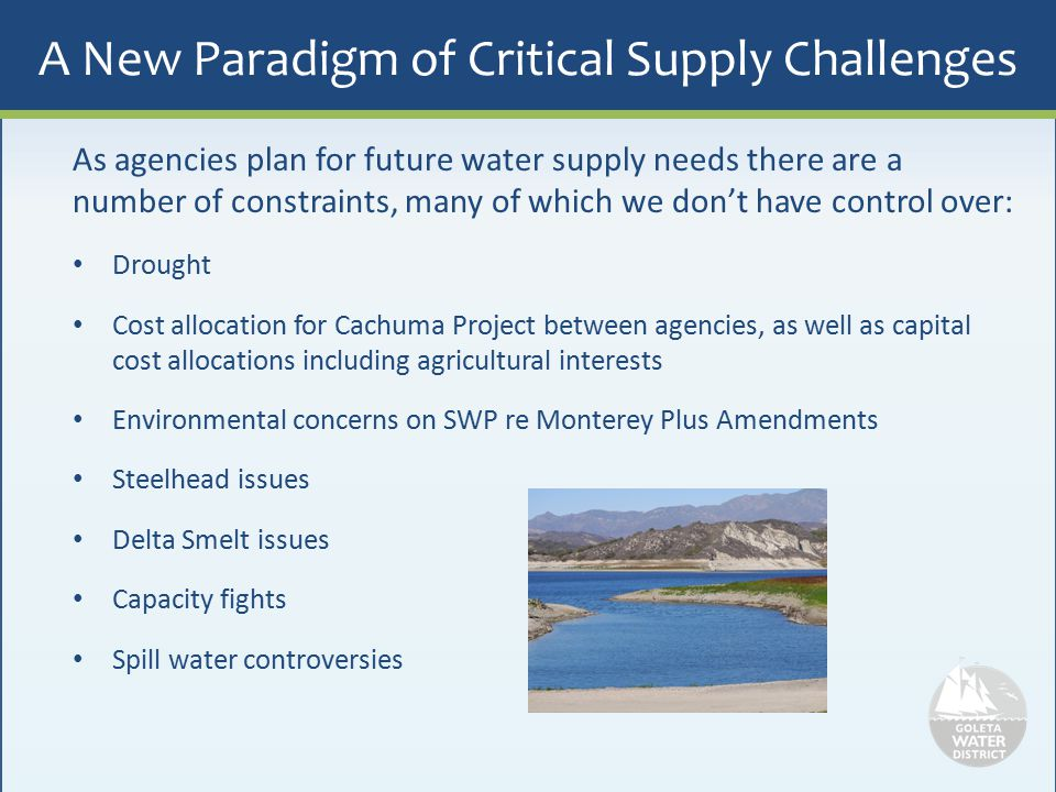 A New Paradigm of Critical Supply Challenges