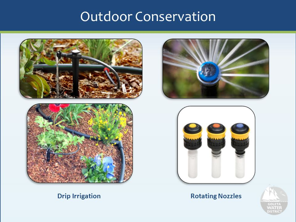 Outdoor Conservation Drip Irrigation Rotating Nozzles