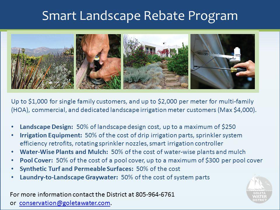 Smart Landscape Rebate Program