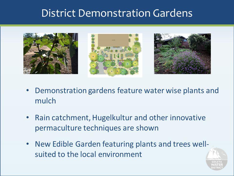 District Demonstration Gardens