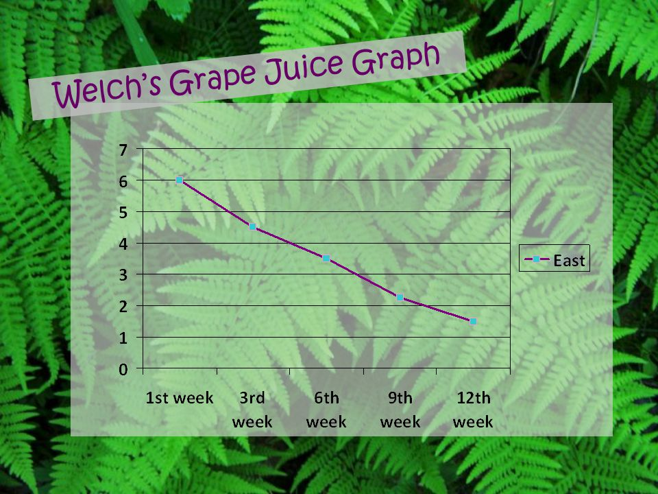 Welch's Grape Juice Graph