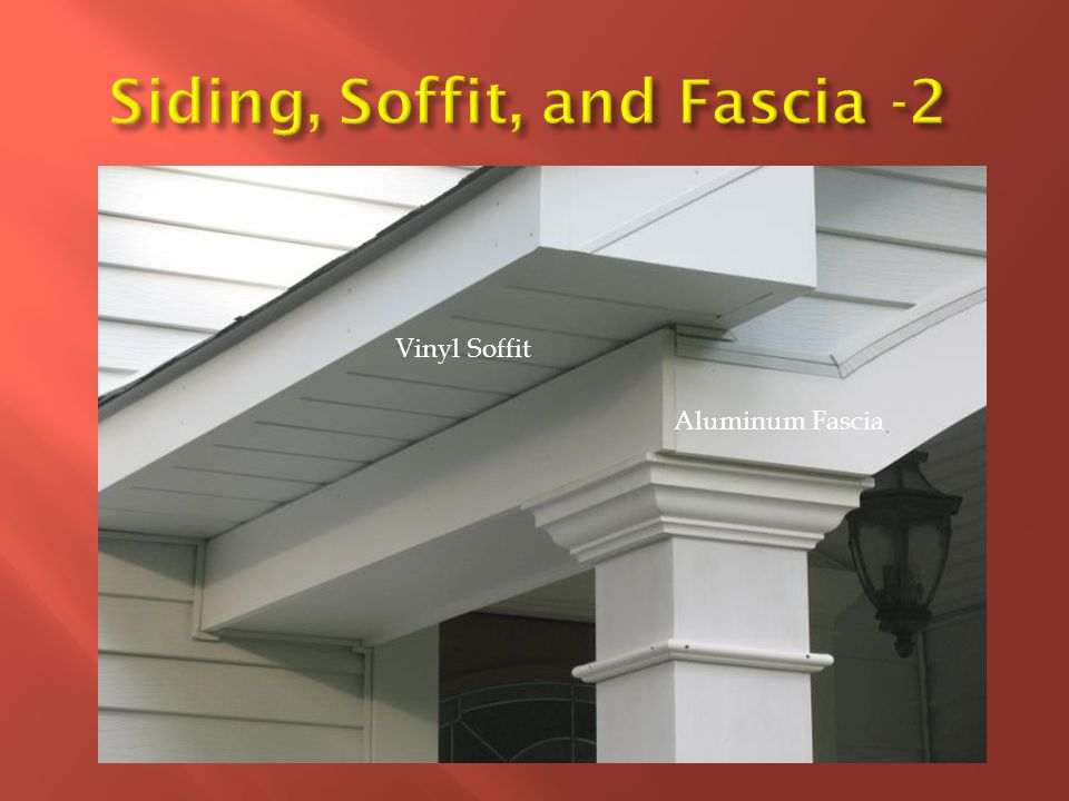 Siding, Soffit, and Fascia -2