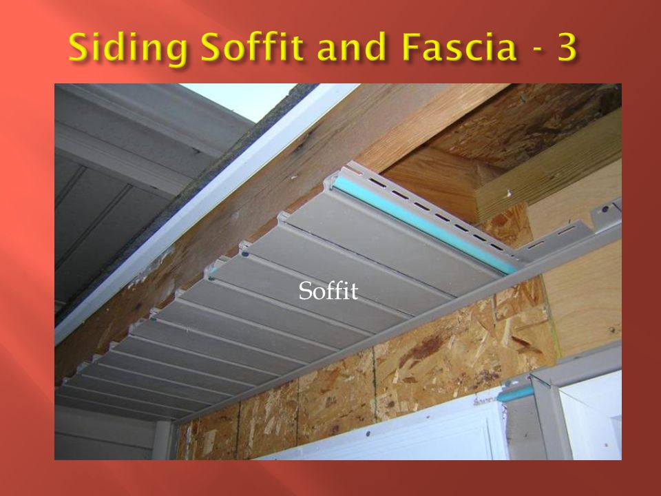 Siding Soffit and Fascia - 3