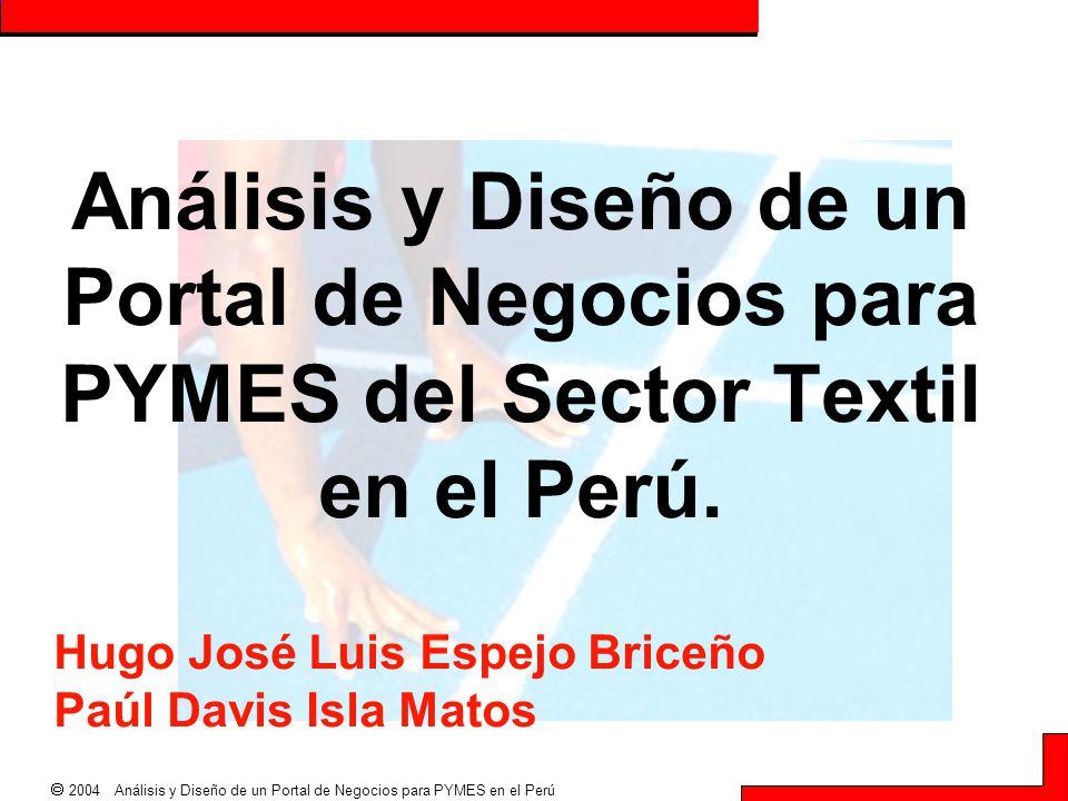 Hugo José Luis Espejo Briceño Paúl Davis Isla Matos