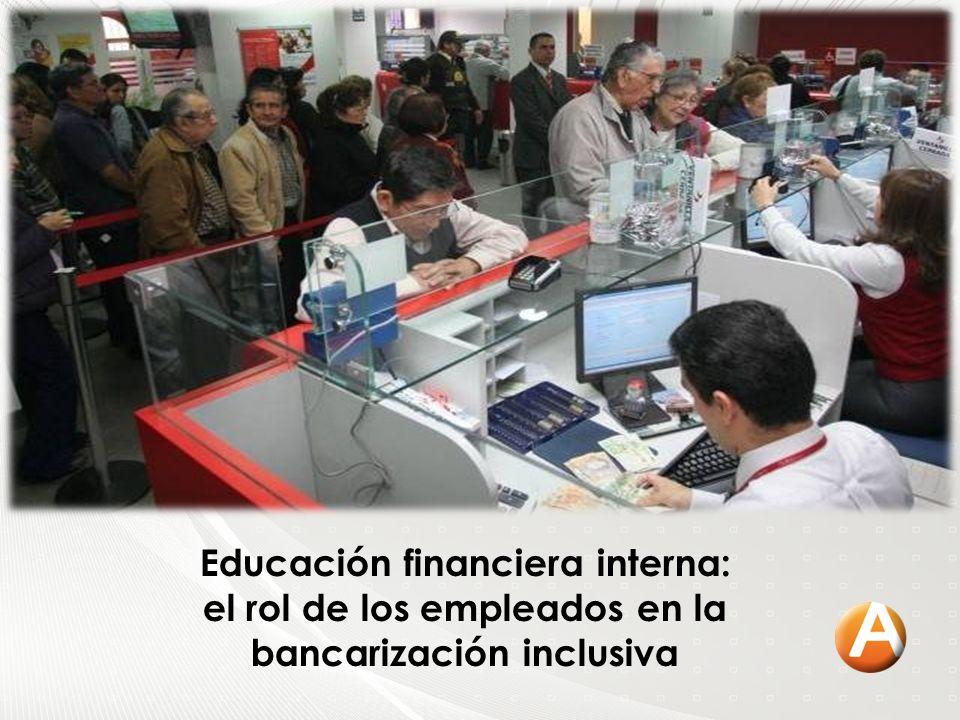 Educación financiera interna: