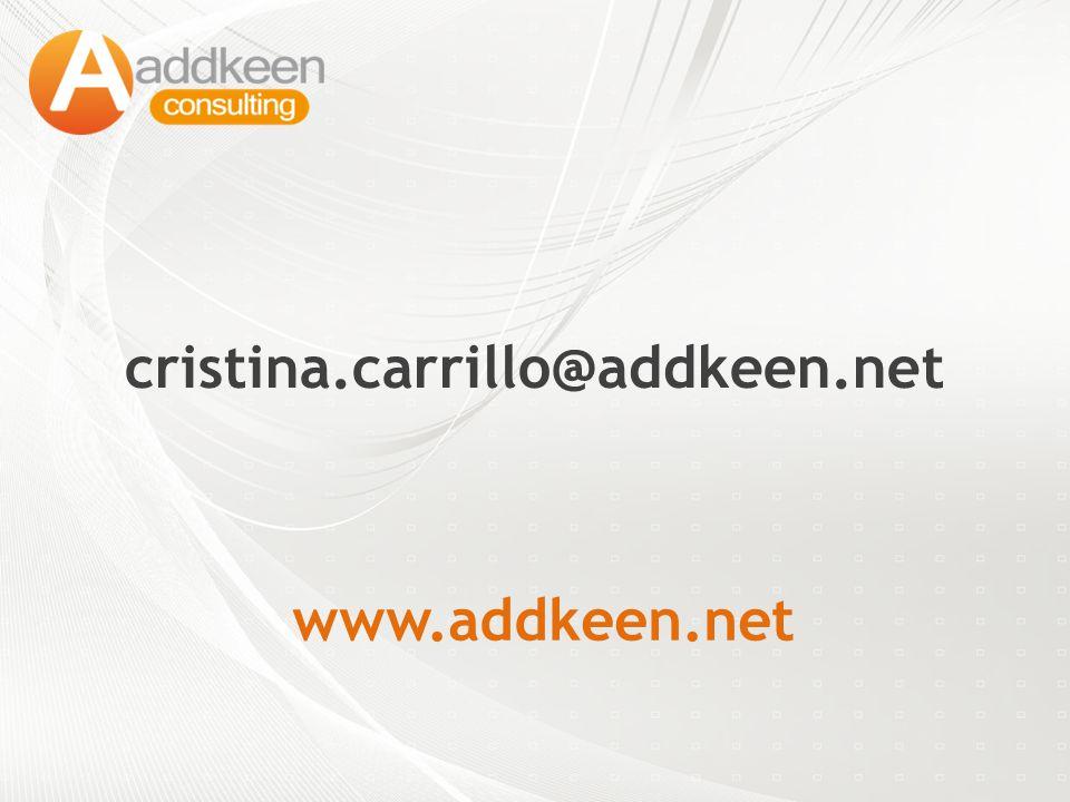 cristina.carrillo@addkeen.net www.addkeen.net