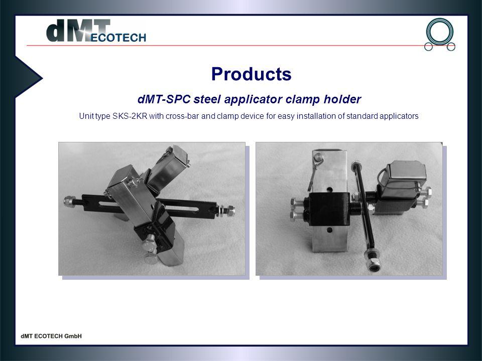 dMT-SPC steel applicator clamp holder