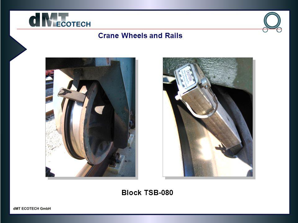 Crane Wheels and Rails Block TSB-080