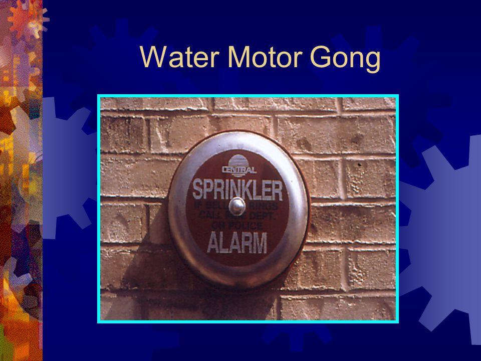 Water Motor Gong