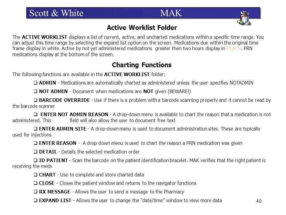 Active Worklist Folder