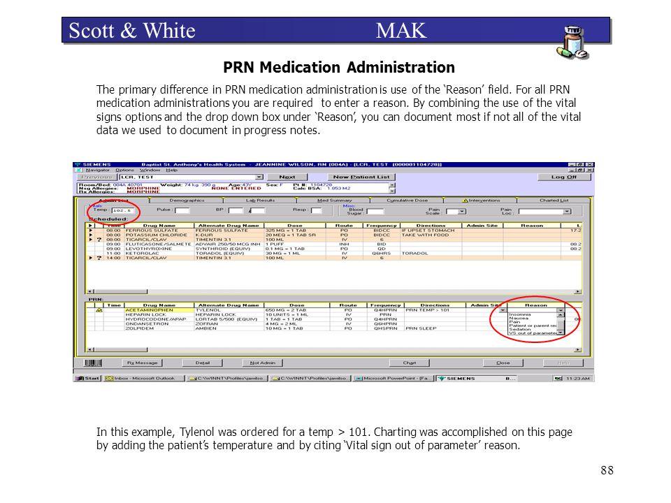 PRN Medication Administration