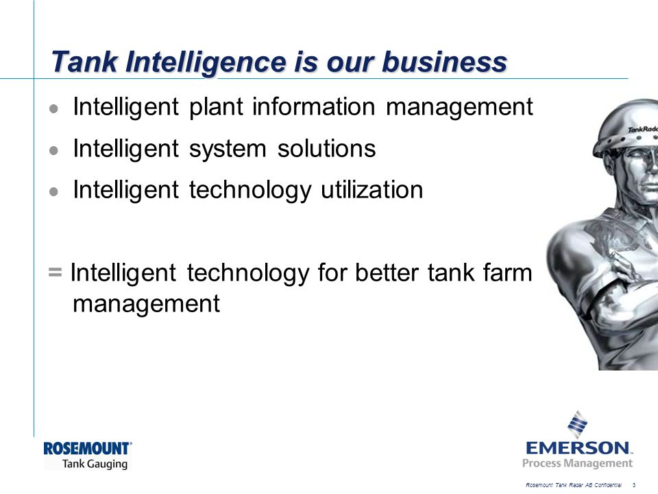 Tank Intelligence is our business