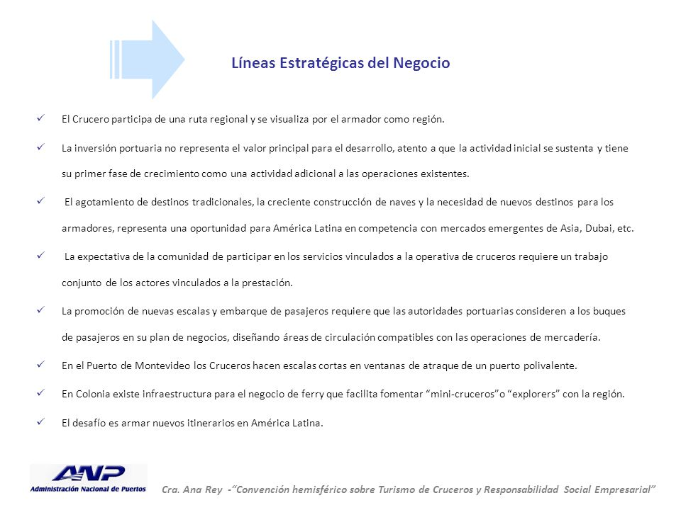 Líneas Estratégicas del Negocio