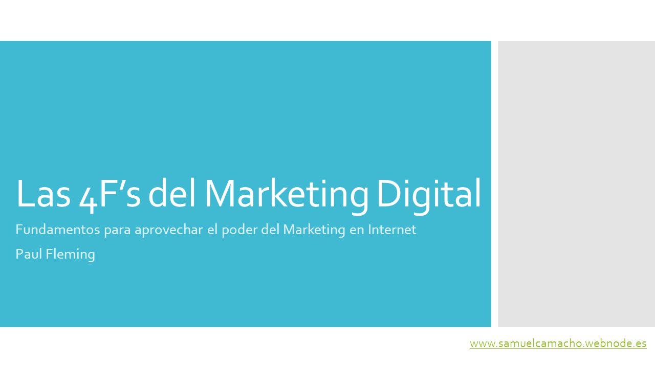 Las 4F's del Marketing Digital