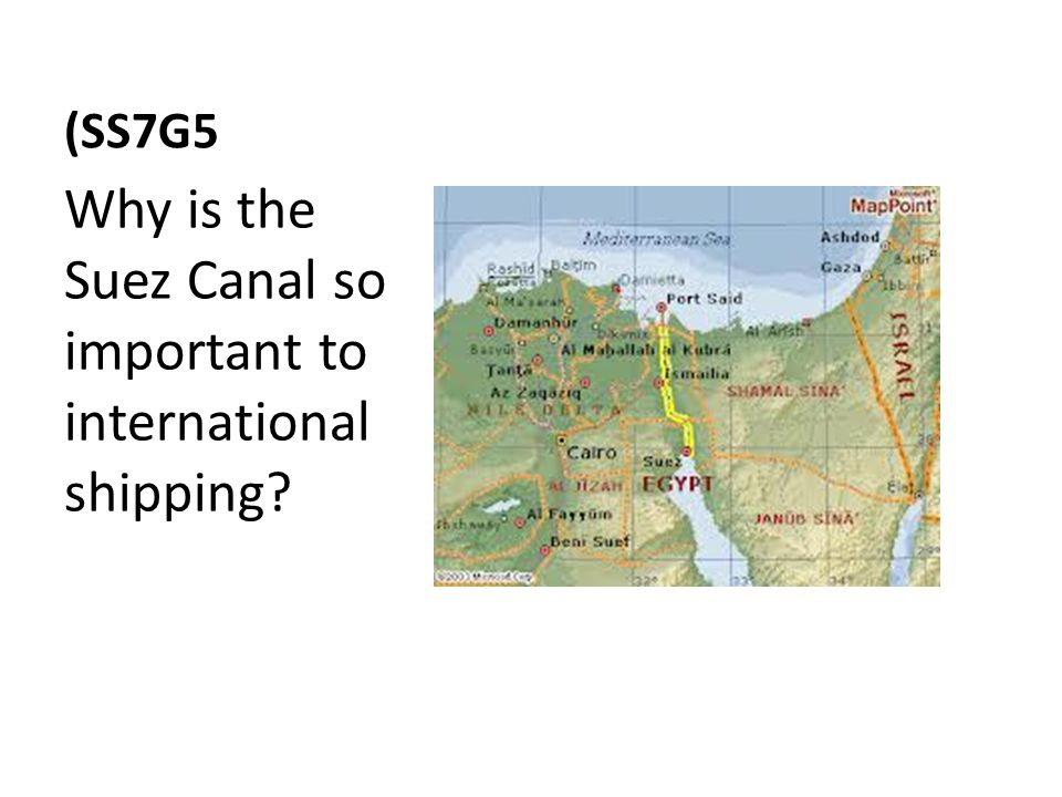 Why is the Suez Canal so important to international shipping