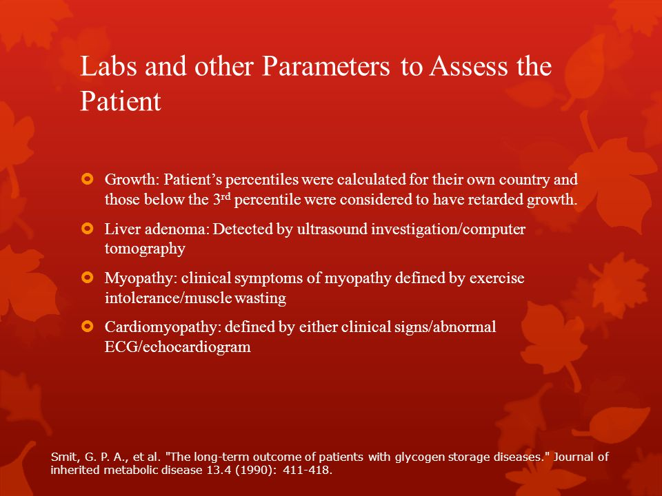 Labs and other Parameters to Assess the Patient