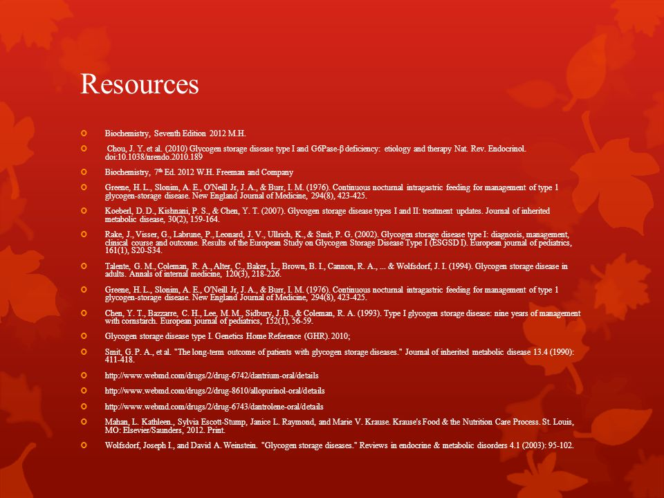 Resources Biochemistry, Seventh Edition 2012 M.H.