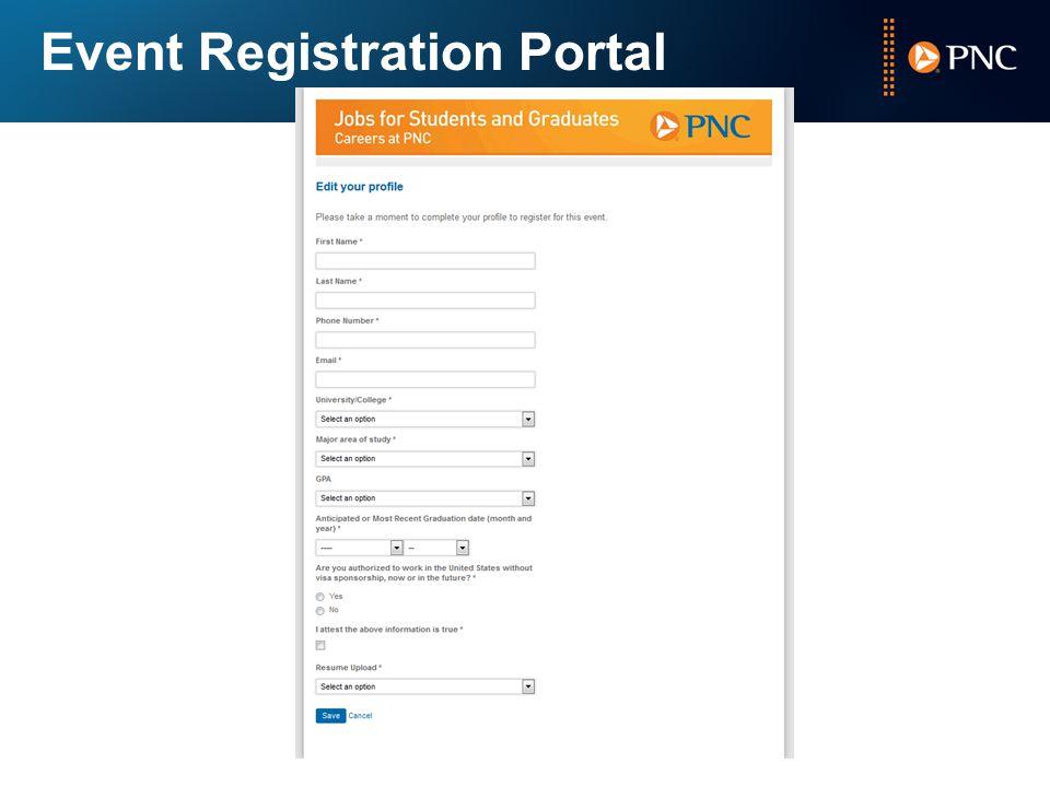 Event Registration Portal