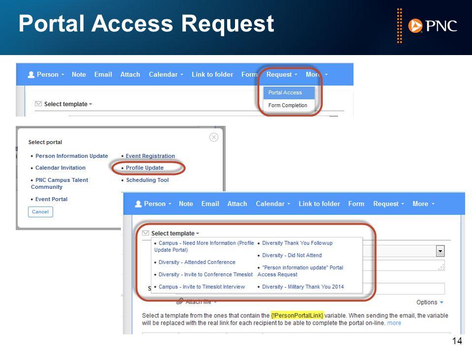 Portal Access Request