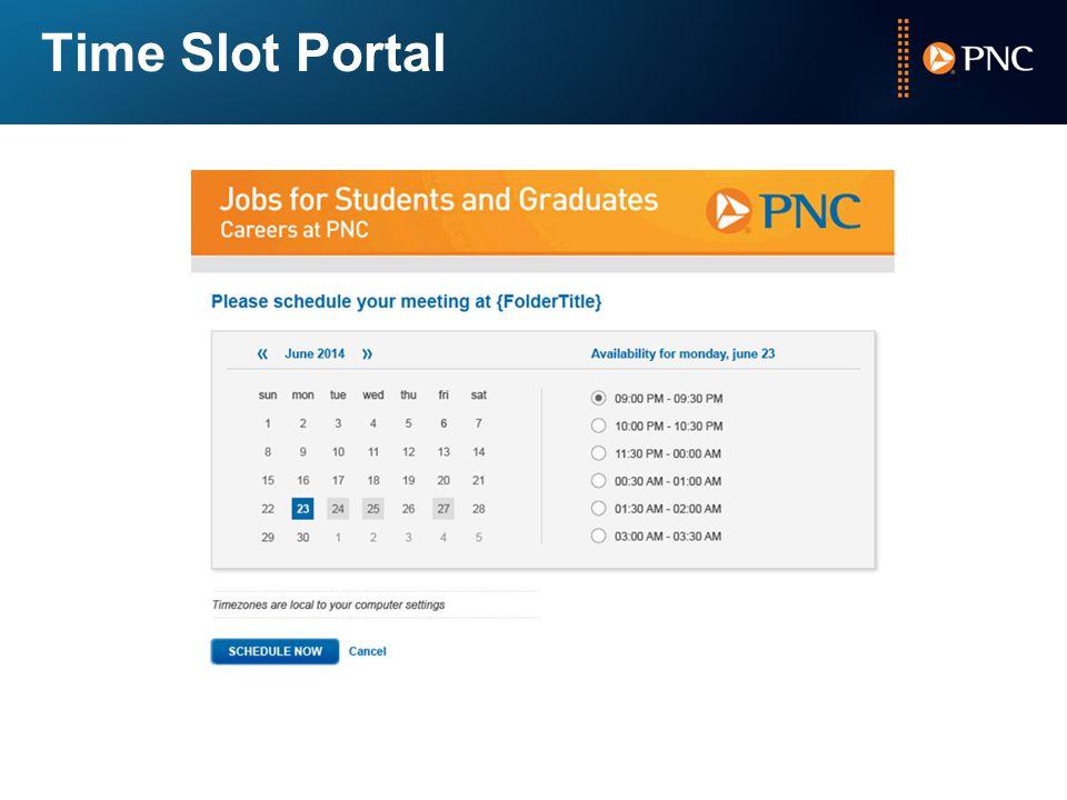Time Slot Portal