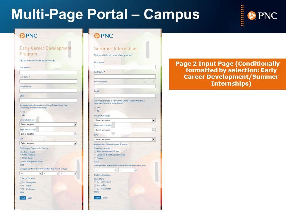 Multi-Page Portal – Campus