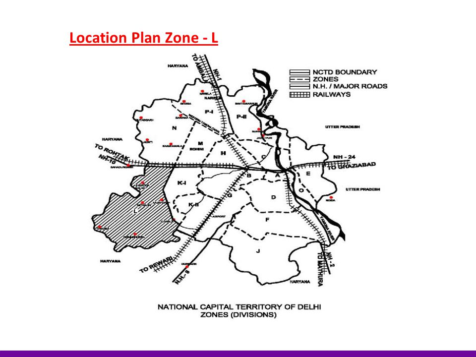 Location Plan Zone - L