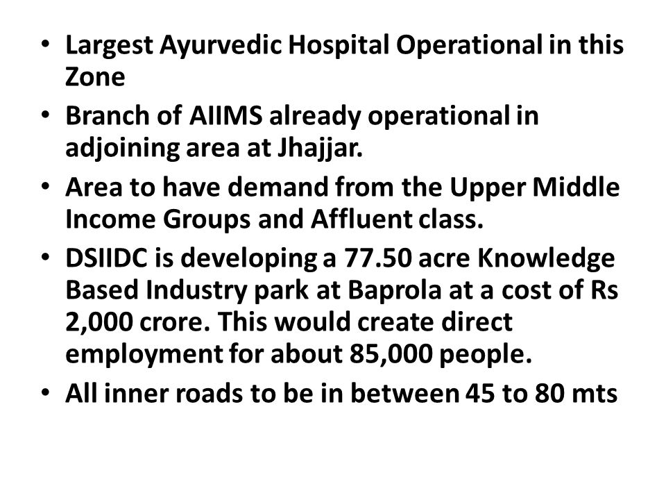 Largest Ayurvedic Hospital Operational in this Zone
