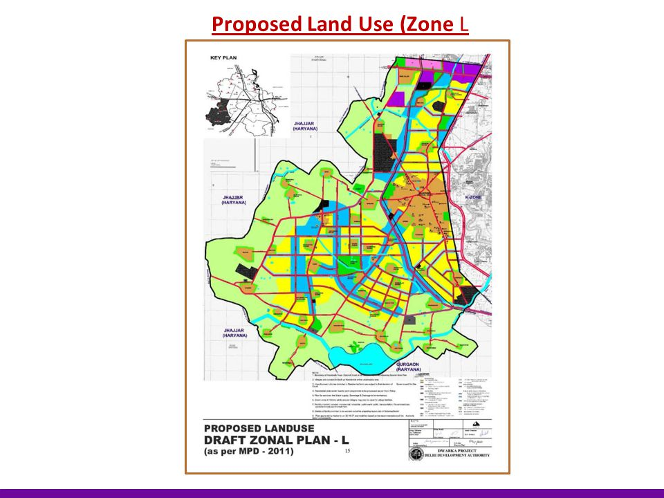 Proposed Land Use (Zone L