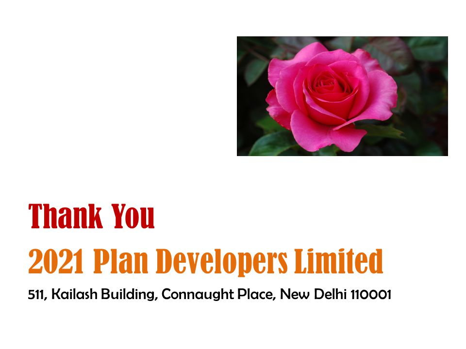 2021 Plan Developers Limited