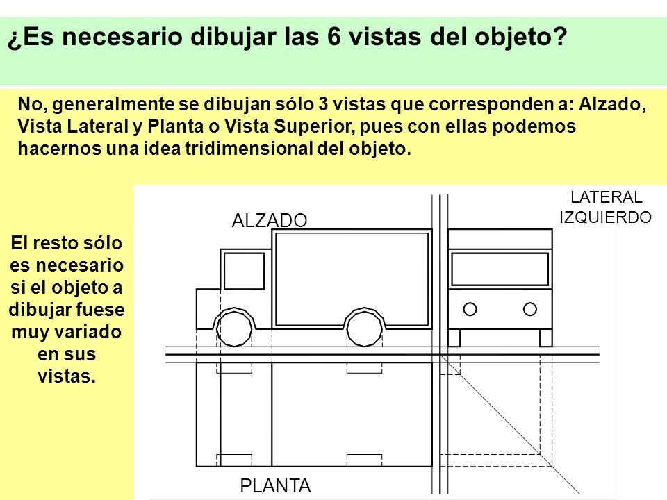 ¿Es necesario dibujar las 6 vistas del objeto
