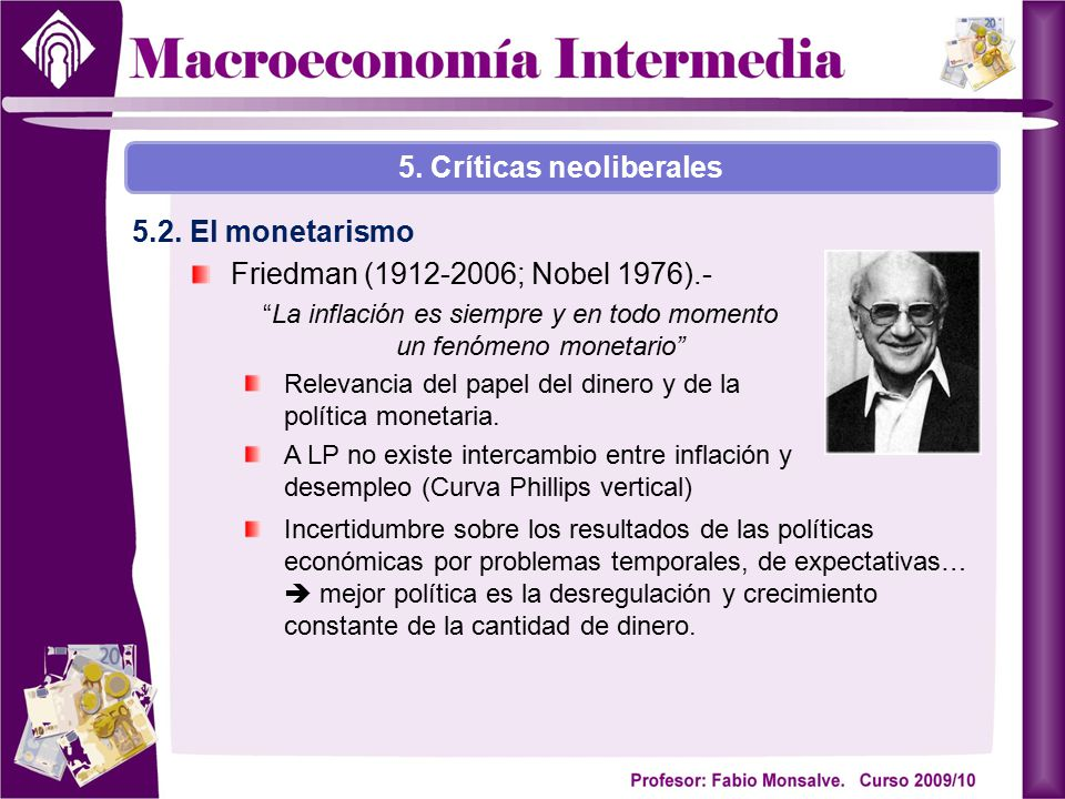 5. Críticas neoliberales