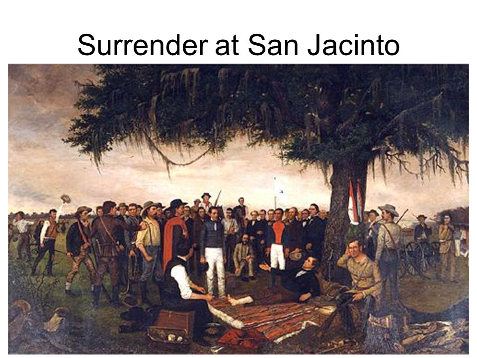 Surrender at San Jacinto