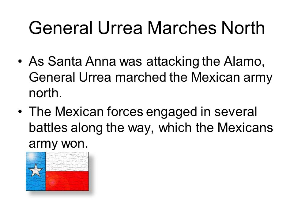 General Urrea Marches North