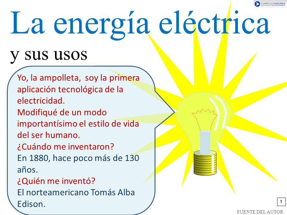 La energía eléctrica y sus usos
