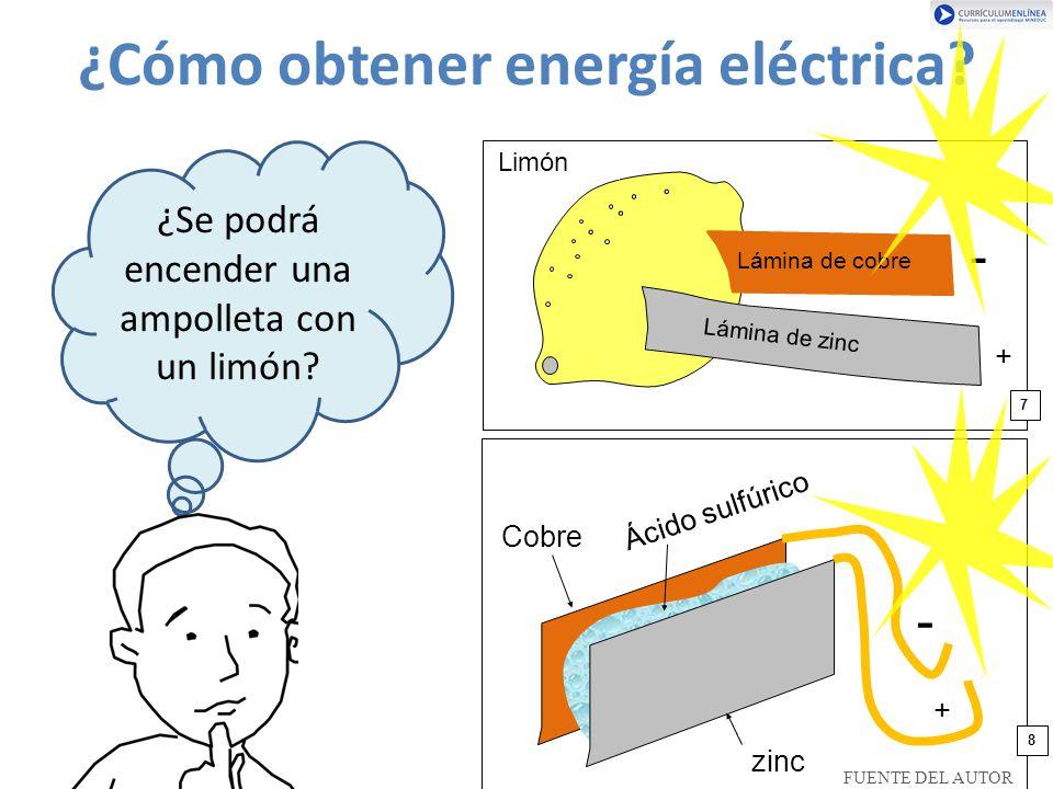 ¿Cómo obtener energía eléctrica