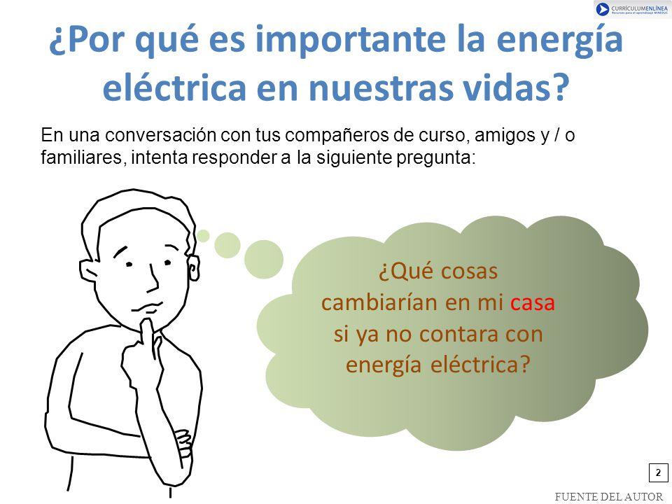 ¿Por qué es importante la energía eléctrica en nuestras vidas