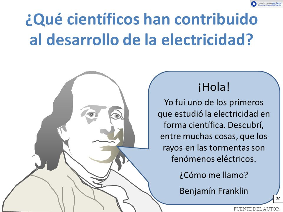¿Qué científicos han contribuido al desarrollo de la electricidad